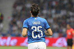 June 1, 2018 - Paris, Ile-de-France, France - Federico Chiesa (Italy) during the friendly football match between France and Italy at Allianz Riviera stadium on June 01, 2018 in Nice, France..France won 3-1 over Italy. (Credit Image: © Massimiliano Ferraro/NurPhoto via ZUMA Press)
