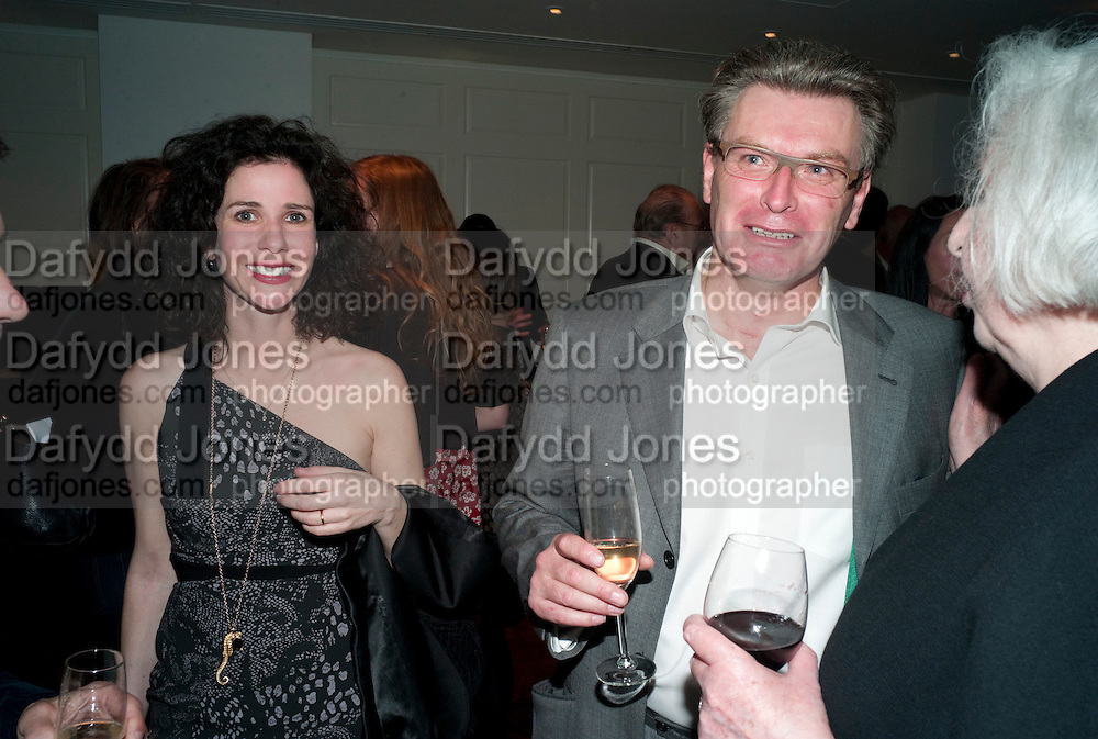 MOLLIE DENT-BROCKLEHURST; DUNCAN WARD, The after-party after the premiere of Duncan WardÕs  film ÔBoogie WoogieÕ ( based on the book by Danny Moynihan). Westbury Hotel. Conduit St. London.  13 April 2010 *** Local Caption *** -DO NOT ARCHIVE-© Copyright Photograph by Dafydd Jones. 248 Clapham Rd. London SW9 0PZ. Tel 0207 820 0771. www.dafjones.com.<br /> MOLLIE DENT-BROCKLEHURST; DUNCAN WARD, The after-party after the premiere of Duncan Ward's  film 'Boogie Woogie' ( based on the book by Danny Moynihan). Westbury Hotel. Conduit St. London.  13 April 2010