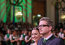 12.01.2018, Hofburg, Wien, AUT, Steirerball, im Bild Christopher Drexler, Landesrat für Gesundheit, Pflege, Wissenschaft und Personal in der Steiermark, mit Begleitung // during the Styrian Ball in the Hofburg, Vienna, Austria on 2018/01/12, EXPA Pictures © 2017, PhotoCredit: EXPA/ Martin Huber