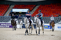 Training in arena - Goteborg 2019