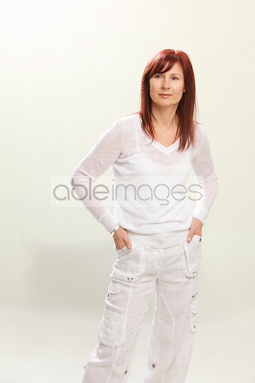 Woman with Hands in Pockets