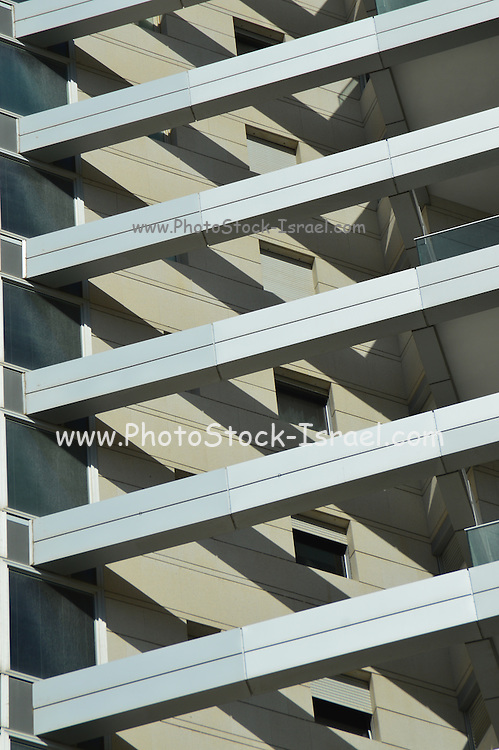 Abstract architecture. Photographed in tel Aviv, Israel