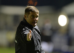 Weston Super Mare Manager, Micky Bell - Photo mandatory by-line: Alex James/JMP - Mobile: 07966 386802 - 18/11/2014 - SPORT - Football - Weston-super-Mare - Woodspring Stadium - Weston-super-Mare v Doncaster - FA Cup - Round One