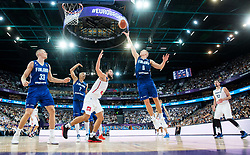 Sasu Salin of Finland during basketball match between National Teams of France and Finland at Day 1 of the FIBA EuroBasket 2017 at Hartwall Arena in Helsinki, Finland on August 31, 2017. Photo by Vid Ponikvar / Sportida