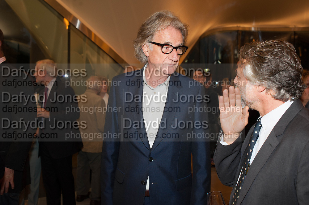 SIR PAUL SMITH, VIP opening  of the new Serpentine Sackler Gallery designed by Zaha Hadid . Kensinton Gdns. London. 25 September 2013