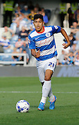 Massimo Luongo during the Sky Bet Championship match between Queens Park Rangers and Cardiff City at the Loftus Road Stadium, London, England on 15 August 2015. Photo by Andy Walter.