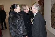NEFER SUVIO,; NICK RHODES; ANTONY FAWCETT , Mandala for Crusoe, Exhibition of work by Francesco Clemente. Blain/Southern. Hanover Sq. London. 29 November 2012
