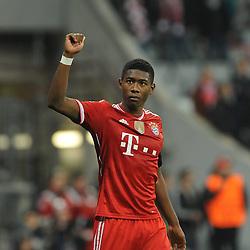 29.04.2014, Allianz Arena, Muenchen, GER, UEFA CL, FC Bayern Muenchen vs Real Madrid, Halbfinale, Ruckspiel, im Bild Ein enttaeuschter David Alaba (FC Bayern Muenchen) nach Spielende. // during the UEFA Champions League Round of 4, 2nd Leg Match between FC Bayern Munich vs Real Madrid at the Allianz Arena in Muenchen, Germany on 2014/04/30. EXPA Pictures © 2014, PhotoCredit: EXPA/ Eibner-Pressefoto/ Stuetzle<br /> <br /> *****ATTENTION - OUT of GER*****