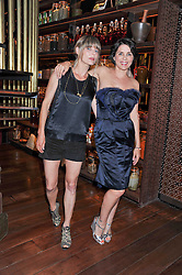 Left to right, JEMIMA FRENCH and SADIE FROST at a dinner to celebrate the beginning of a unique partnership between The Naked Heart Foundation and W's Newest Hotel W St.Petersburg -The 'For Russia With Love' dinner was hosted by Sadie Frost and Natalia Vodianova at Spice Market restaurant, W London, Leicester Square, London on 2nd June 2011.