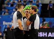 DESCRIZIONE : Lubiana Ljubliana Slovenia Eurobasket Men 2013 Finale Terzo Quarto Posto Spagna Croazia Final for 3rd to 4th place Spain Croatia<br /> GIOCATORE : Arbitri Referees<br /> CATEGORIA : arbitri referees<br /> SQUADRA : FIBA<br /> EVENTO : Eurobasket Men 2013<br /> GARA : Spagna Croazia Spain Croatia<br /> DATA : 22/09/2013 <br /> SPORT : Pallacanestro <br /> AUTORE : Agenzia Ciamillo-Castoria/H.Bellenger<br /> Galleria : Eurobasket Men 2013<br /> Fotonotizia : Lubiana Ljubliana Slovenia Eurobasket Men 2013 Finale Terzo Quarto Posto Spagna Croazia Final for 3rd to 4th place Spain Croatia<br /> Predefinita :