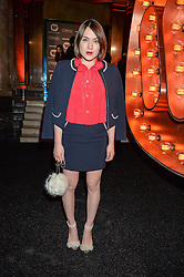 ELLA CATLIFF at the Warner Music Group & Ciroc Vodka Brit Awards After Party held at The Freemason's Hall, 60 Great Queen St, London on 24th February 2016.
