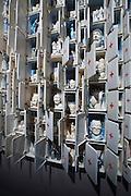 "Arsenale. International exhibition ""Fare Mondi // Making Worlds // Bantin Duniyan // ???? // Weltenmachen // Construire des Mondes // Fazer Mundos..."" curated by Daniel Birnbaum..Bertozzi&Casoni, ""Composizione non finita - infinita"", 2009"