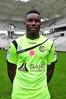 Kossi Agassa - 21.10.2014 - Photo officielle Reims - Ligue 1 2014/2015<br /> Photo : Philippe Le Brech / Icon Sport