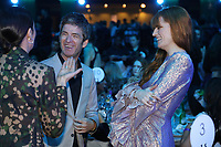 Noel Gallagher and Florence + The Machine listening to Nadine Shah