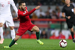 November 20, 2018 - Guimaraes, Guimaraes, Portugal - Rafa Silva midfielder of Portugal in action during the UEFA Nations League football match between Portugal and Poland at the Dao Afonso Henriques stadium in Guimaraes on November 20, 2018. (Credit Image: © Dpi/NurPhoto via ZUMA Press)