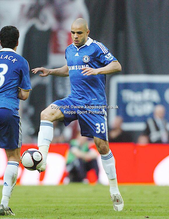 ALEX, CHELSEA, Arsenal v Chelsea, FA Cup Semi Final, Wembley Stadium, Saturday 18th April 2009