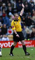 Photo: Dave Linney.<br />Derby County v Plymouth Argyle. Coca Cola Championship. 25/02/2006.Ref K Wright