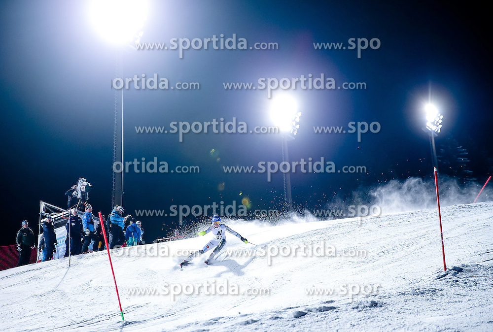 13.01.2015, Hermann Maier Weltcupstrecke, Flachau, AUT, FIS Weltcup Ski Alpin, Flachau, Slalom, Damen, 1. Lauf, im Bild Charlotta Saefvenberg (SWE) // Charlotta Saefvenberg of Sweden in action during 1st run of the ladie's Slalom of the FIS Ski Alpine World Cup at the Hermann Maier Weltcupstrecke in Flachau, Austria on 2015/01/13. EXPA Pictures © 2015, PhotoCredit: EXPA/ Johann Groder
