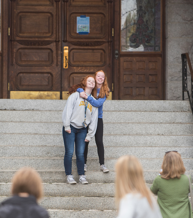Students and families join together for the 2016 Fall Family Weekend. (Photo by Edward Bell)