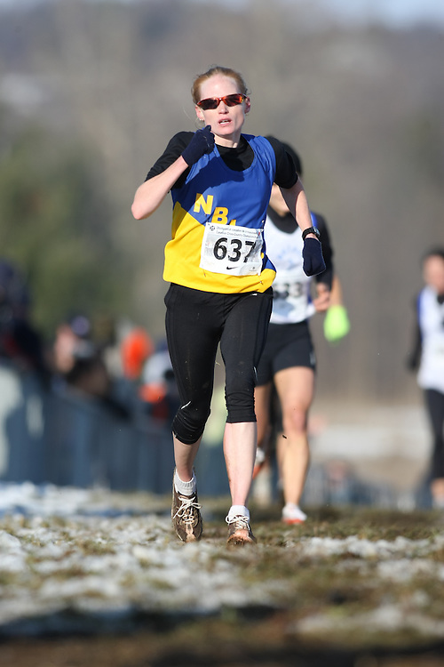 Guelph, Ontario ---29/11/08---  DONNA MAE ROBINS competes in the senior women's race at the 2008 AGSI Canadian Cross Country Championships in Guelph, Ontario, November 29, 2008..Sean Burges Mundo Sport Images