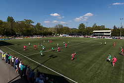 NEWTOWN, WALES - Sunday, May 6, 2018: A general view during the FAW Welsh Cup Final between Aberystwyth Town and Connahs Quay Nomads at Latham Park. (Pic by Paul Greenwood/Propaganda)