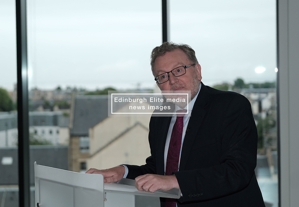 Scottish Secretary of State David Mundell received the keys to the new UK Government building in Edinburgh.<br /> <br /> The new hub is due to open in early 2020 and bring together nearly 3,000 UK Government civil servants.<br /> <br /> Pictured: David Mundell MP<br /> <br /> Alex Todd | Edinburgh Elite media