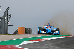 March 23, 2019 - Austin, Texas, U.S - Chip Ganassi Racing driver Ed Jones (10) of United Arab Emirates in action during the practice round at the Circuit of the Americas racetrack in Austin,Texas. (Credit Image: © Dan Wozniak/ZUMA Wire)