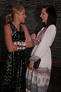 India Hicks and Saffron Aldridge. The Serpentine Summer party co-hosted by Jimmy Choo. The Serpentine Gallery. 30 June 2005. ONE TIME USE ONLY - DO NOT ARCHIVE  © Copyright Photograph by Dafydd Jones 66 Stockwell Park Rd. London SW9 0DA Tel 020 7733 0108 www.dafjones.com