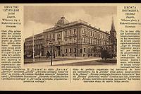 "Hrvatski učiteljski dom : Zagreb, Wilsonov trg 3 = Kroata instruista hejmo : Zagreb, Vilsona placo 3. <br /> <br /> ImpresumZagreb : Izdanje pedag. smotre ""Hrvatski Učitelj"", [između 1919 i 1929].<br /> Materijalni opis1 razglednica : tisak ; 8,8 x 13,6 cm.<br /> Mjesto izdavanjaZagreb<br /> Vrstavizualna građa • razglednice<br /> ZbirkaGrafička zbirka NSK • Zbirka razglednica<br /> Formatimage/jpeg<br /> PredmetZagreb –– Trg Republike Hrvatske<br /> Hrvatski školski muzej (Zagreb)<br /> SignaturaRZG-TMT-21<br /> Obuhvat(vremenski)20. stoljeće<br /> NapomenaRazglednica nije putovala.<br /> PravaJavno dobro<br /> Identifikatori000953154<br /> NBN.HRNBN: urn:nbn:hr:238:987556 <br /> <br /> Izvor: Digitalne zbirke Nacionalne i sveučilišne knjižnice u Zagrebu"
