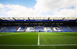 General view of the King Power Stadium before kick off  - Mandatory byline: Jack Phillips/JMP - 07966386802 - 08/08/2015 - SPORT - FOOTBALL - Leicester - King Power Stadium - Leicester City v Sunderland - Barclays Premier League