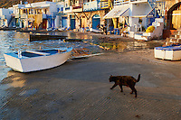 Grece, Cyclades, ile de Milos, village de pecheur de Klima // Greece, Cyclades islands, Milos island, fisher village of Klima