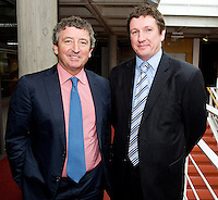 Mr Oliver McAnena UCHG and Mr Paul Neary Tallagh at the Clinical Science Building UCHG. Photo:Andrew Downes
