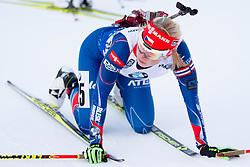 Eva Puskarcikova (CZE) during Women 12.5 km Mass Start at day 4 of IBU Biathlon World Cup 2015/16 Pokljuka, on December 20, 2015 in Rudno polje, Pokljuka, Slovenia. Photo by Urban Urbanc / Sportida