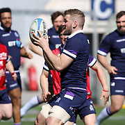 Roma 16/03/2018 Stadio Olimpico<br /> Natwest 6 nations Italia vs Scozia<br /> Captain's Run Scozia<br /> John Barclay