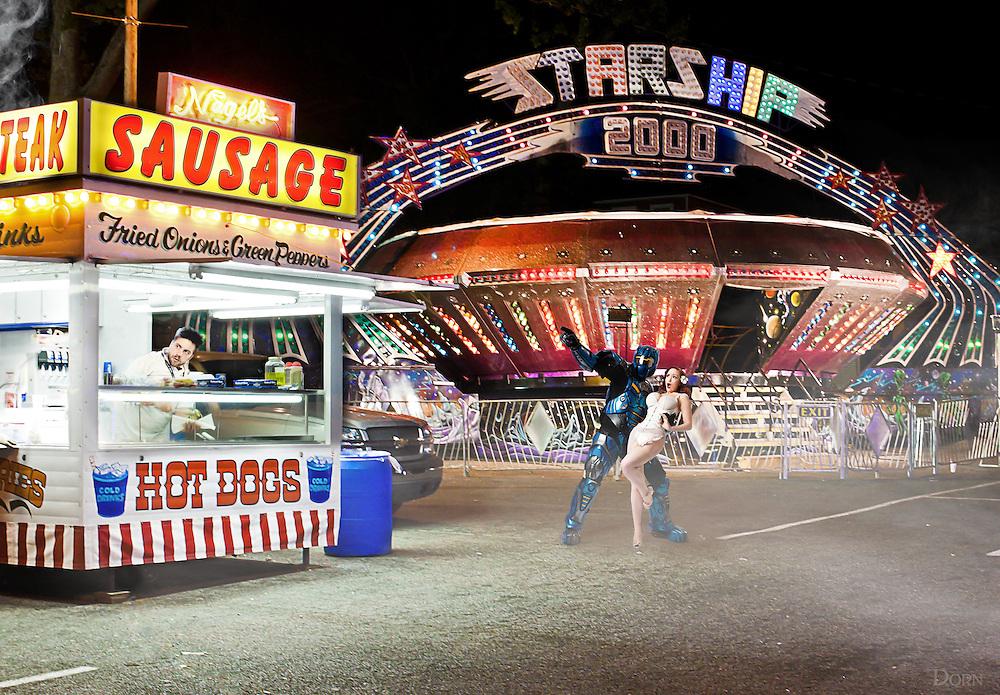Look! Sausage!