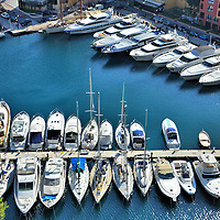 Port de Fontvieille in Monte Carlo, Monaco<br />