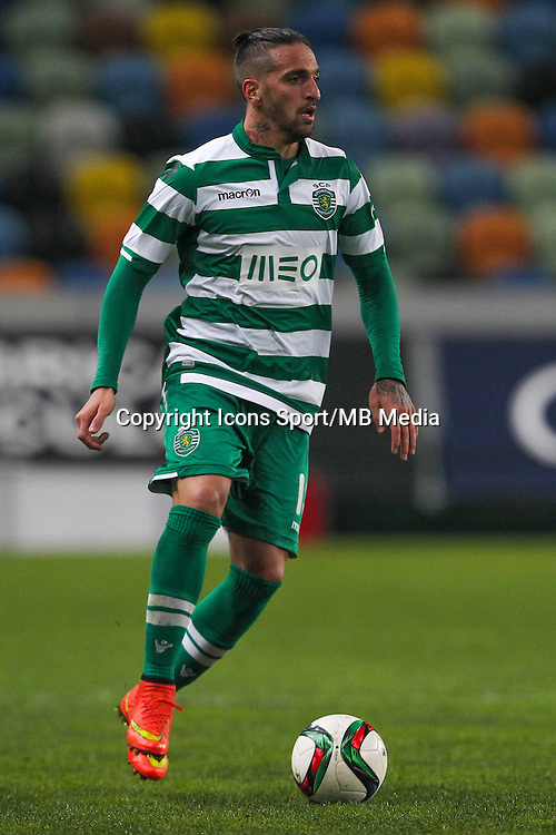 Miguel Lopes - 14.01.2015 - Sporting / Boavista -Coupe de la ligue du Portugal-<br /> Photo : Carlos Rodrigues / Icon Sport