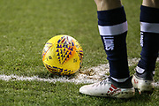 Ben Marshall of Millwall preparers to take a corner kick during the EFL Sky Bet Championship match between Millwall and Cardiff City at The Den, London, England on 9 February 2018. Picture by Toyin Oshodi.