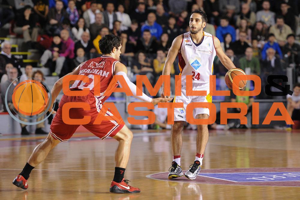 DESCRIZIONE : Roma Lega A 2014-15 Acea Roma EA7 Emporio Armani Milano<br /> GIOCATORE : Rok Stipcevic<br /> CATEGORIA : palleggio<br /> SQUADRA : Acea Roma<br /> EVENTO : Campionato Lega A 2014-2015<br /> GARA : Acea Roma EA7 Emporio Armani Milano<br /> DATA : 21/12/2014<br /> SPORT : Pallacanestro <br /> AUTORE : Agenzia Ciamillo-Castoria/G.Masi<br /> Galleria : Lega Basket A 2014-2015<br /> Fotonotizia : Roma Lega A 2014-15 Acea Roma EA7 Emporio Armani Milano
