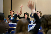A scene from a panel discussion during the 2013 Planned Parenthood National Conference in Washington D.C.
