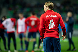 Player of Norway during football match between National Teams of Slovenia and Norway in Final Tournament of UEFA Nations League 2019, on November 16, 2018 in SRC Stozice, Ljubljana, Slovenia. Photo by Urban Urbanc / Sportida