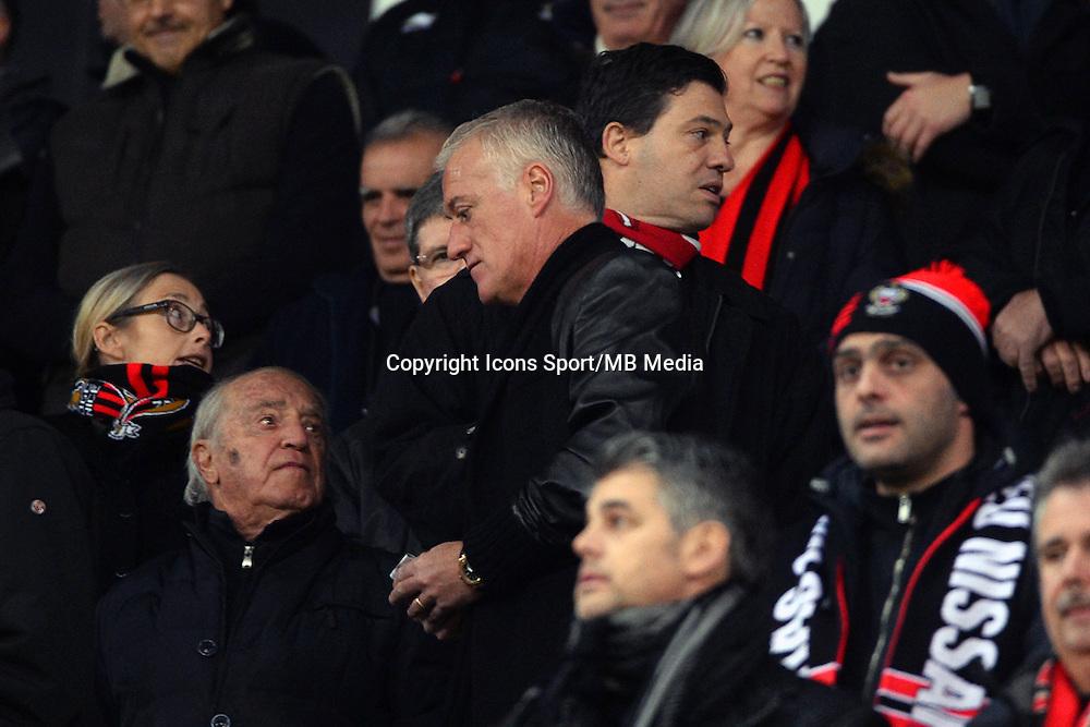 Didier DESCHAMPS   - 23.01.2015 - Nice / Marseille - 22eme journee de Ligue 1<br />Photo : Gaston Petrelli / Icon Sport