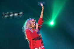 © Licensed to London News Pictures. 04/10/2014, UK. Neon Jungle; Jessica Kate Plummer, Girlguiding BIG GIG, SSE Arena Wembley, London UK, 04 October 2014. Photo credit : Richard Goldschmidt/Piqtured/LNP