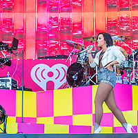 LAS VEGAS - SEP 19 : Recording artist Demi Lovato performs onstage at the 2015 iHeartRadio Music Festival at the Las Vegas Village on September 19, 2015 in Las Vegas, Nevada.