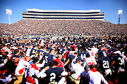 Penn State and Nebraska pray before the game.            DAVID SWANSON / Staff Photographer                            November 12, 2011 State College, Pa NITS13   Beaver Stadium, Nebraska at Penn State        Joe Paterno / Sandusky investigation.