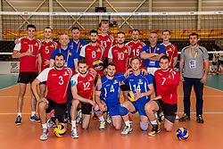 23-05-2017 NED: 2018 FIVB Volleyball World Championship qualification, Koog aan de Zaan<br /> Moldavi&euml; - Griekenland / Team Moldavie