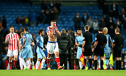 Jonathan Walters of Stoke City looks dejected at full time - Mandatory by-line: Matt McNulty/JMP - 08/03/2017 - FOOTBALL - Etihad Stadium - Manchester, England - Manchester City v Stoke City - Premier League