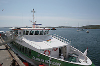 Ferry at Inis Mor Aran Islands County Galway Ireland