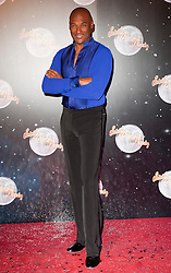 Colin Salmon joins fellow Contestants as they line up for this years Strictly Come Dancing television show on BBC. Contestants will include Olympic medalist Victoria Pendleton, Tuesday September 11, 2012.Photo Andrew Parsons/i-Images
