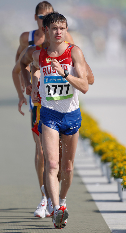 2008 Beijing Olympic Games - Day 8 - Morning - August 22nd, 2008 *** Denis Nizhegorodov -- 50km walk, Russia *** Day 8